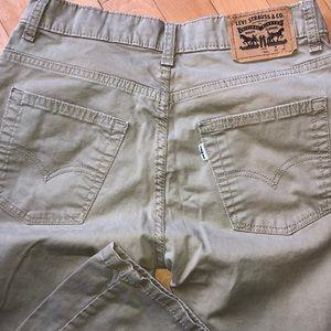 Boys Levi Strauss Jeans Size 18